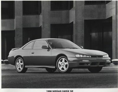 1998 Nissan 240SX SE Press Photo and Sales Release