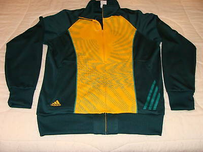 Team South Africa 2010 World Cup Soccer Track Jacket XL