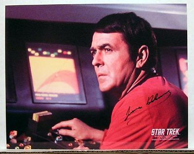 STAR TREK Autograph 8x10 Photo- James Doohan