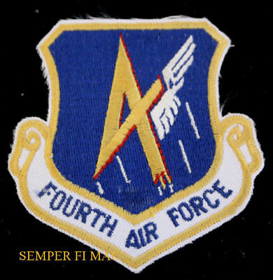 4TH US AIR FORCE PATCH FOURTH AFRC MARCH AFB RESERVES