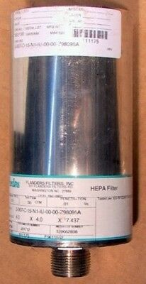 SS Round Canister HEPA Air Filter Down Stream Nipple