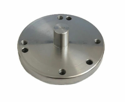 Rdgtools 4'' Rotary Table Adaptor Backplate For Fitting Lathe Chucks 3 / 4 Jaw