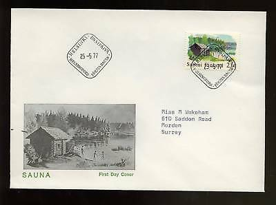 Finland 1977 Traditional Art FDC