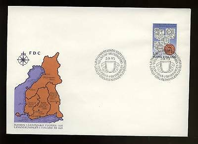 Finland 1985 Provincial Administration FDC