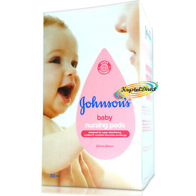 Johnsons 30 Disposable Maternity Nursing Breast Pads