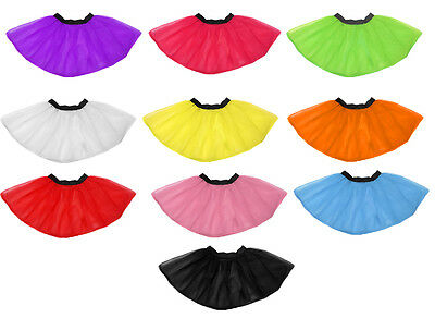 fea545f257 Neon Tutu Skirt I Love 80S Fancy Dress One Size Plus Size Fun Run Hen Party