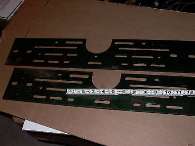 Lot Of Two Punched Steel Mounting Brackets