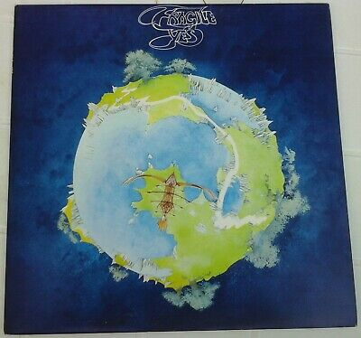 YES - FRAGILE atlantic  K 50009  LP 1971 IT w / booklet