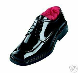Men's Lace Up Tuxedo Shoes*square Toe*nuvo*used