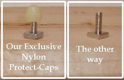 24 Nylon Protect-to-Caps finish off  bolts in cabinet