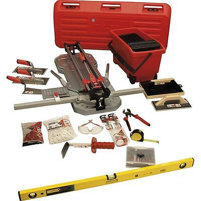 Rubi Tiling Tools Gold Kit 2 - TX-710 MAX Tile Cutter Set