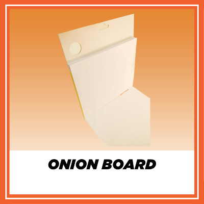 BODY FILLER MIXING ONION BOARD with 10 FILLER SPREADERS