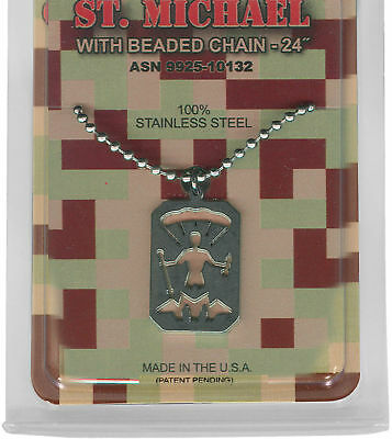 Military Issue Saint Michael Usa Made Jewelry