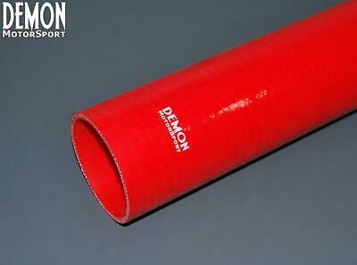 """0.5m Silicone Hose Straight Length 70mm 2.75"""" Inch Red (4 Ply) Demon Motorsport"""
