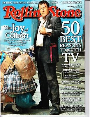 Rolling Stone 9/17/09 Stephen Colbert/Pink/Taylor Swift/David Duchovny/Che Chase