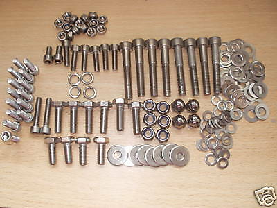 MOTO GUZZI STAINLESS STEEL bolts Le Man cali sp t3 850 1000 1100 Frame + engine