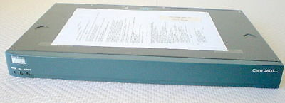 Cisco 2620XM Router 128MB RAM 48MB Flash used