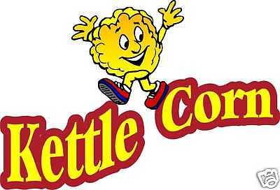 Kettle Corn Korn Concession Food Decal Sticker 24""
