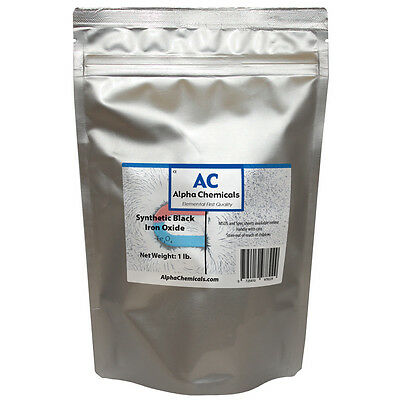 1 lb Synthetic Black Iron Oxide  - Fe3O4 - <1 micron particle size