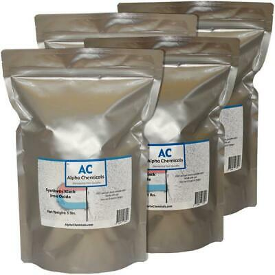 20 lb Synthetic Black Iron Oxide  - Fe3O4 - <1 micron particle size