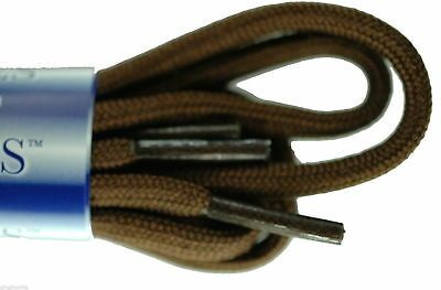 Cord Round Brown 5mm Laces Shoes Boots Hiking-Boots New