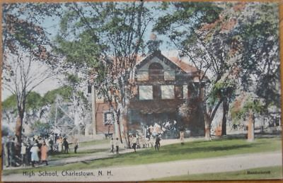 1908 PostcardLovers LaneCharlestown New Hampshire NH  999