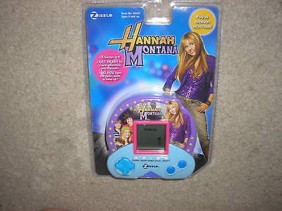 New Hannah Montana Zizzle Handheld Electronic Game