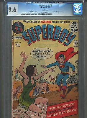 Superboy #179 CGC 9.6 (1971) Only 2 Higher @ 9.8