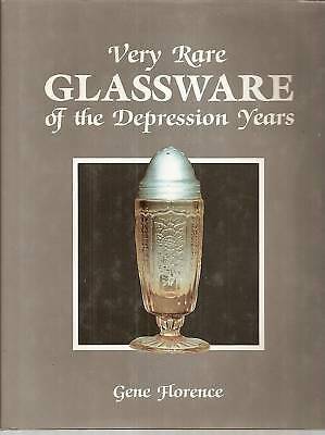Very Rare Glassware of the Depression Years FN