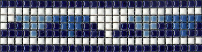 6pcs 300mm Feature Mosaic Tile Borders - Indoor Spa