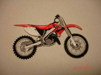 """Honda Patch, Motocross Cr 125R, Embroidered 5"""" Patch"""
