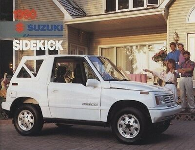 1990 Suzuki Sidekick Sales Brochure Sheet