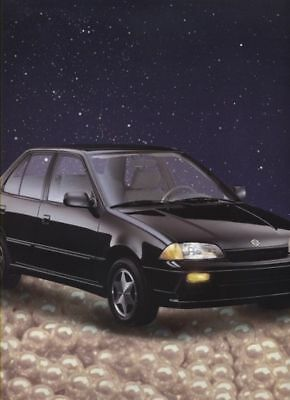 1991 Suzuki Swift Sedan Sales Brochure Sheet