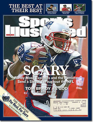 Sports Illustrated 9/17/07 Randy Moss/Tom Brady/New England Patriots/Chargers
