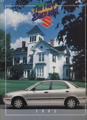 1995 Suzuki Esteem Dealer Sales Brochure Book