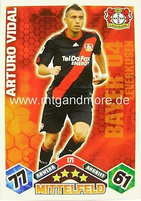 Match Attax  Arturo Vidal #171  10/11