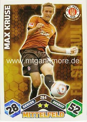 Match Attax  Max Kruse #264  10/11