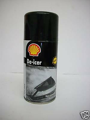 Shell De-Icer Aerosol Spray Can Ice Melt 3 x 300ml