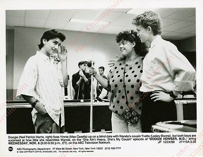 Doogie Howser MD Press Photo 7X9 NEIL PATRICK HARRIS Lesley Boone MAX CASELLA