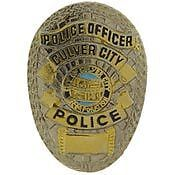 CULVER CITY POLICE OFFICER BADGE PIN