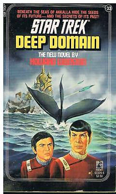 Star Trek - Deep Domain / Howard Weinstein USA 1987