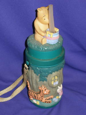 Classic Winnie The Pooh Sippy Bottle by Selandia 9""