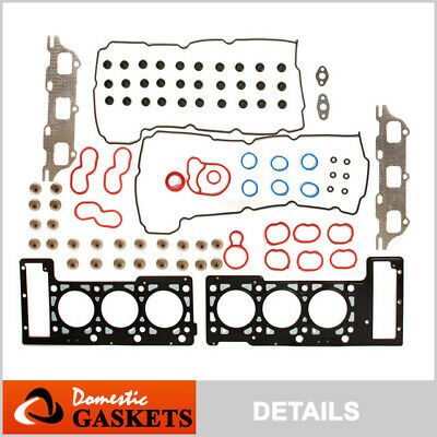 01-10 Chrysler Sebring 300 Dodge Intrepid Stratus 2.7L DOHC MLS Head Gasket Set