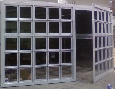 Front Filter Product Doors  For Paint Spray Booths