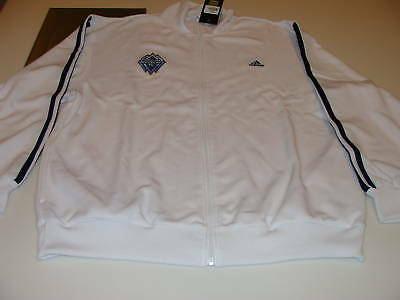 Vancouver Whitecaps FC Soccer MLS Adidas Track Top L