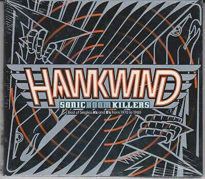 HAWKWIND Sonic Boom Killers Best of Singles A's & B's From 1970 to 1980 NEW CD