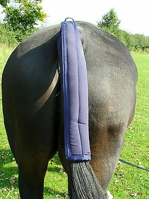 Gee Tac Rug  Horse Fleece Tail Guard Padded Cob Or Full