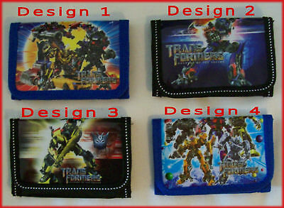 TRANSFORMERS Awesome TRI-FOLD WALLET  Blue or Black NEW