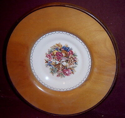 Amer Limoges Triumph Victoria Surf Imperial Plate Wood