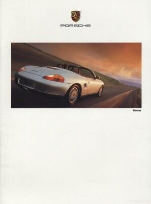1997 Porsche 22-page Car Sales Brochure - 911 Carrera 4S Targa Turbo Boxster